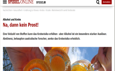 Studie: Alkoholverzicht senkt Krebsrate (SPIEGEL ONLINE GmbH)